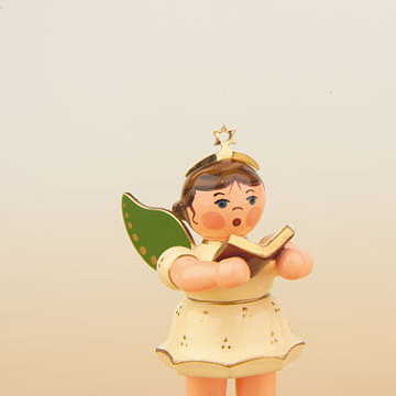 Engel mit Gesangbuch 6,5 cm